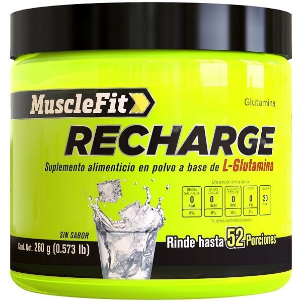 Recharge L Glutamina MuscleFit